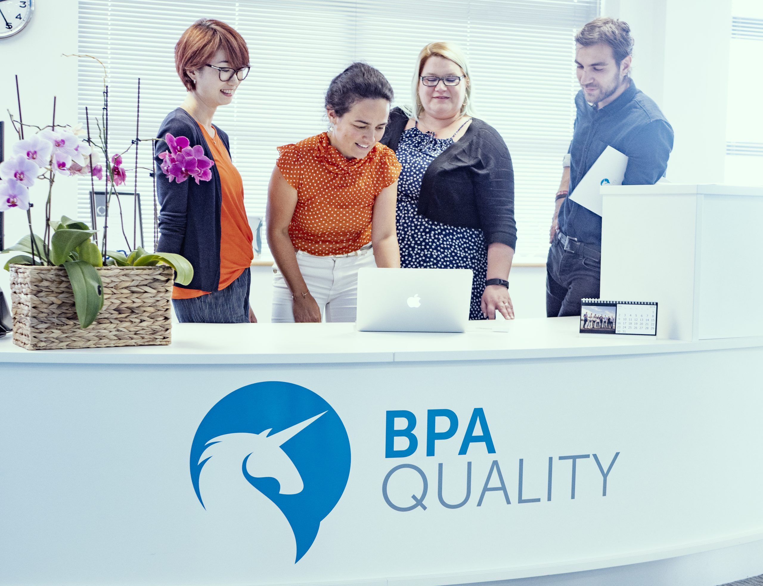 Some of BPA Quality's experts in contact centre quality experience management discuss work